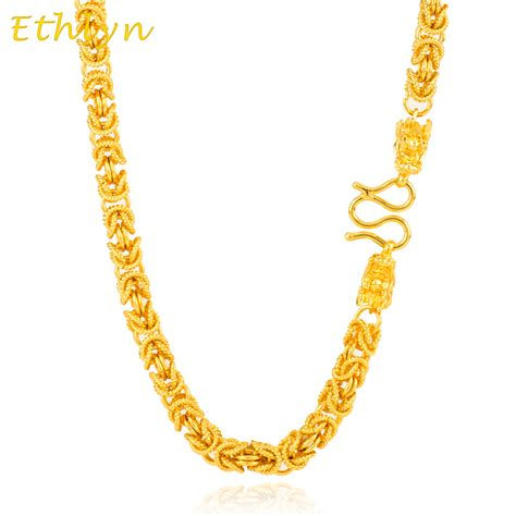 Handmade Chain - ethlyn handmade chain wide 6mm gold color
