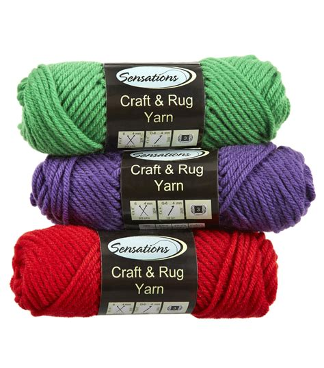 crafts with yarn for craft and rug yarn joann