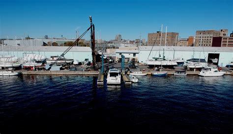boat storage milwaukee milwaukee marina facilities centerpointe yacht services