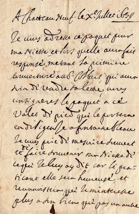 Lettre De Cachet De Louis Xiv Mazarin Jules Les Amours De Sa Ni 232 Ce Et De Louis Xiv