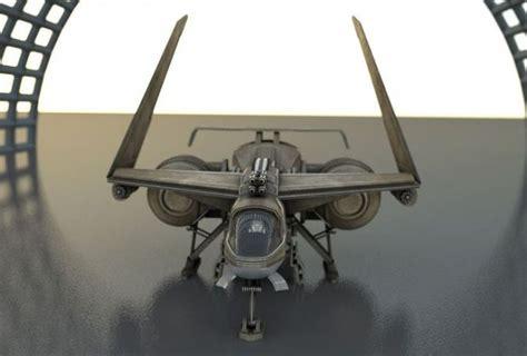 blender tutorial aircraft futuristic combat jet rigged free 3d model 3ds obj