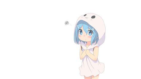 cute anime  girl full hd wallpaper