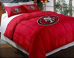 amazon com san francisco 49ers nfl twin full comforter
