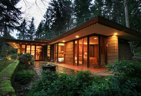 frank lloyd wright inspired home plans frank lloyd wright usonian home for sale in sammamish