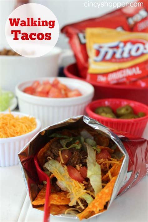 fair food at home week walking tacos recipe tacos