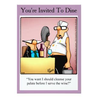 dinner jokes dinner invitations announcements zazzle canada