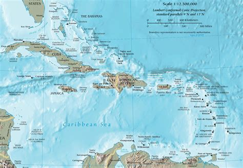 map of the caribbean islands has its moments sometimes