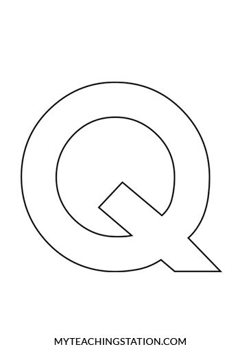 letter q template www imgkid com the image kid has it