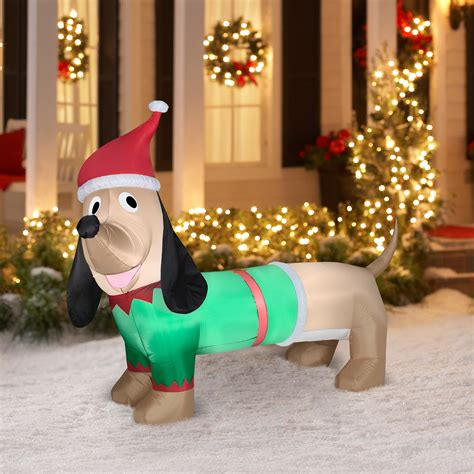 gemmy airblown christmas inflatables 6 tall animated