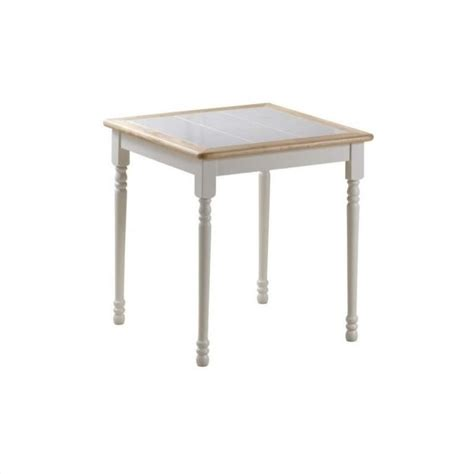 30 Dining Table 30 Quot X 30 Quot Square Wood Dining Table In White And 70001