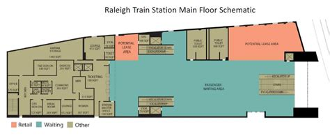 train station floor plan union station concepts shown to future raleigh train riders