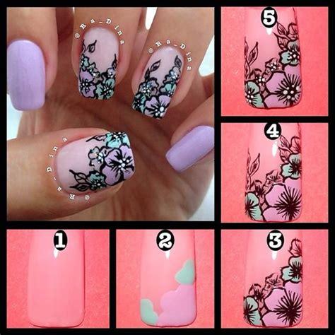 tutorial nail art instagram nail art маникюр ногти nails nail дизайн ногтей