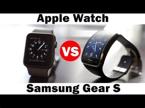Samsung Gear S Smartwatch Comparison Samsung Gear S2 Vs Apple Doovi