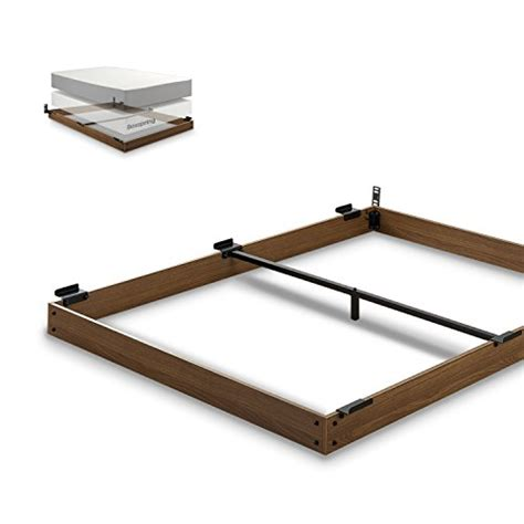 Wood Box Bed Frame Zinus 5 Inch Wood Bed Frame For Box Mattress Set Keep Pets From Beneath Your Bed