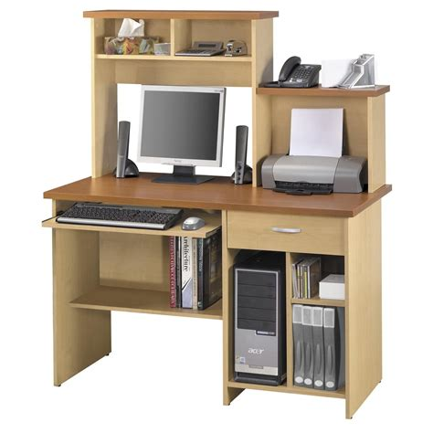 pc desk design combined work station and computer desk ideas