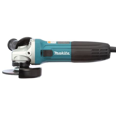 Makita Ga4030 Angle Grinder makita 6 corded 4 in lightweight angle grinder with
