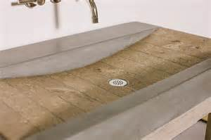 quarry sink concrete wave design concrete countertops