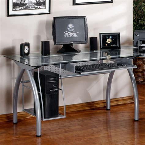 studio rta glass desk avstoreonline studio rta pc desk and caddy