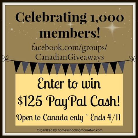 Canadian Giveaways - canadian cash giveaway