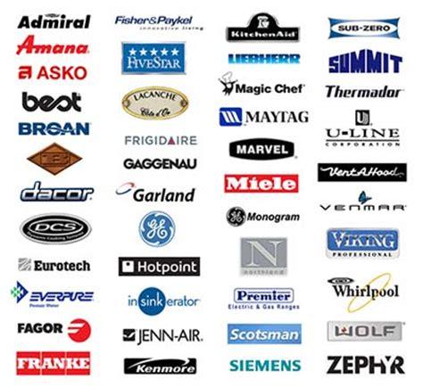 brands we repair refrigerator repair service in oc