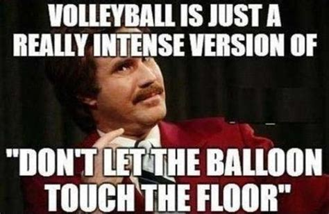 Funny Volleyball Memes - funny volleyball quotes for girls quotesgram