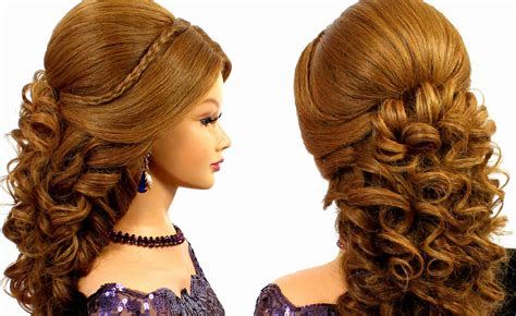 how to do romantic hairstyles romantic bridal prom hairstyle for long hair tutorial