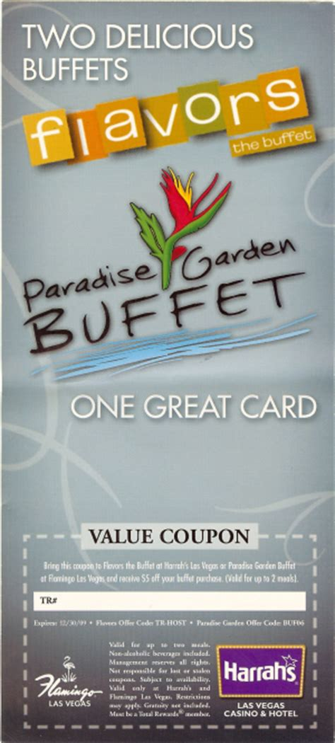coupons for buffets in las vegas las vegas coupons las vegas top 5 free coupons for november 2009