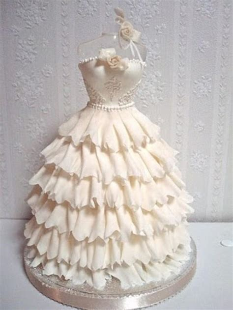 Wedding Cake Dress by Wedding Dresses Wedding Gown Shaped Wedding Cake