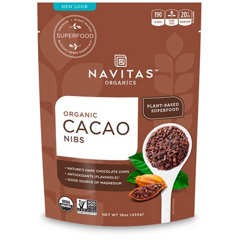 Raw Cocoa Beans Nutritional Information   Nutrition Ftempo