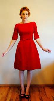 Cutest party dress red velvet holiday dress 3 4 sleeve boatneck