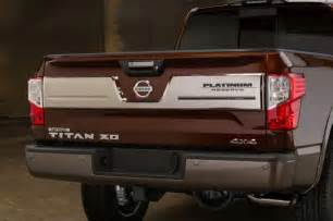 When Is The Nissan Titan Diesel Coming Out 2016 Nissan Titan Xd Platinum Tailgate Photo 85510517