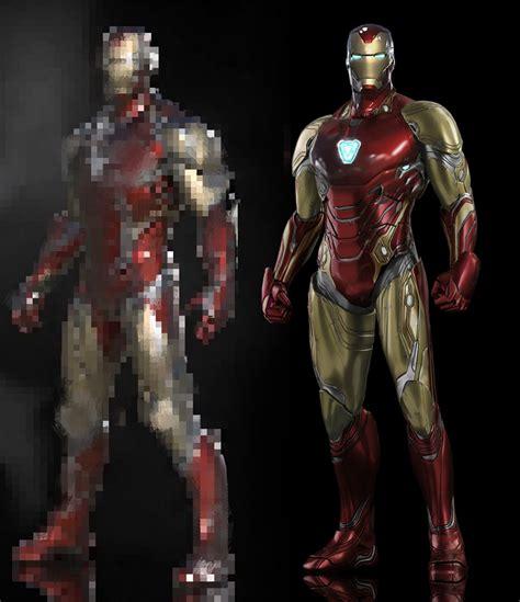 promo art iron man avengers endgame