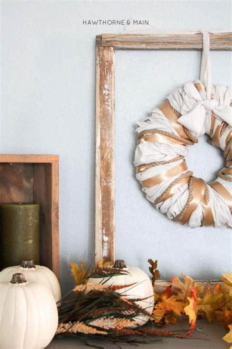 diy oversized wreath