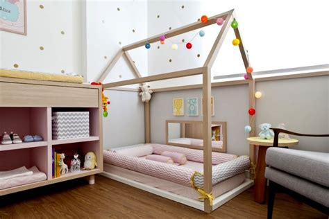 cabane fille chambre fabriquer un lit cabane pour les petits loulous