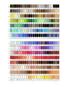embroidex color chart 1000 images about sewing threads on color