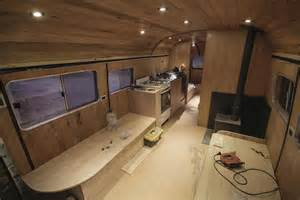 Redoing Bathroom Ideas old mercedes benz bus turned into a mobile ski lodge