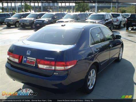 2004 honda accord gray 2004 honda accord ex v6 sedan eternal blue pearl gray