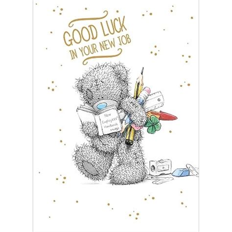 luck in your new card template luck new me to you card a01ss534 me to