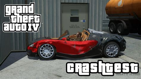 bugatti crash test bugatti veyron grand sport crashtest gta iv mod