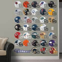 nfl helmet collection wall decal shop fathead 174 for nfl decor shop new york giants wall decals amp graphics fathead nfl