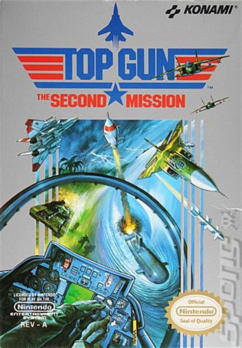 covers & box art: top gun 2: the second mission nes (1 of 1)