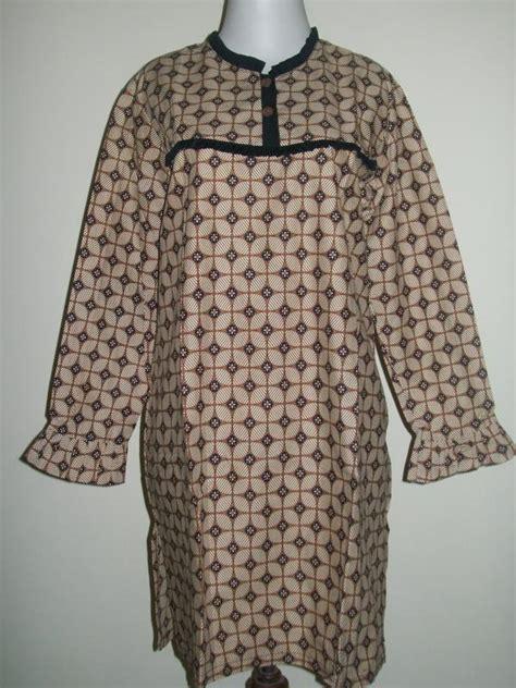 Celana Batik Kulot Zhr 029 blus batik wanita modern lengan panjang berwarna coklat cp029 toko batik 2018