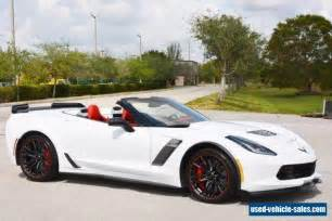 Used Cars For Sale Corvette Usa 2017 Chevrolet Corvette For Sale In The United States