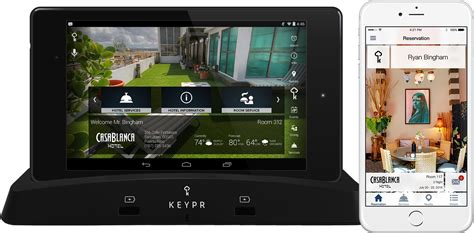 Tablet Ww One sofo hotel selects keypr as exclusive guest experience technology partner