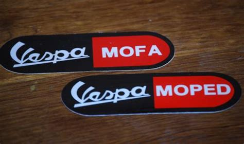 Vespa Boxer Aufkleber by Vespa Sf Ciao Sticker Sets R Moped Mofa Sprinter Racer