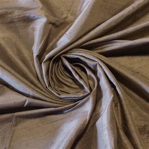 dupioni silk drapery fabric silk sh027 dark taupe exquisite hand woven dupioni 100