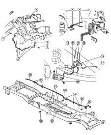 Brake Line Diagram 2000 Dodge Dakota Dodge 2500 Frame Diagram Dodge Free Engine Image For