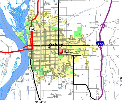 zip code map quincy il 77 ill adm code 527