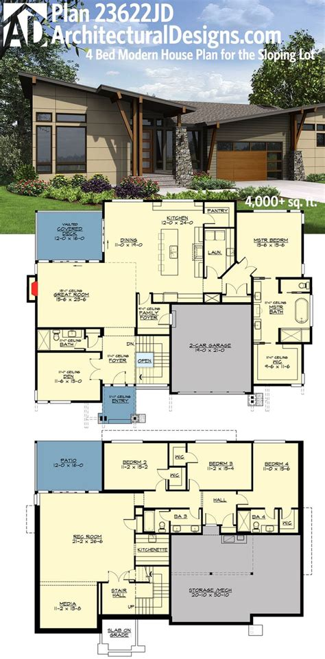 house plans with rear view 2017 house plans and home house plan with rear view extraordinary floor basement