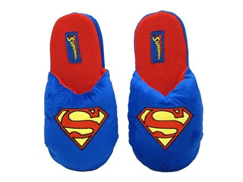 superman slippers for adults dc comics slippers